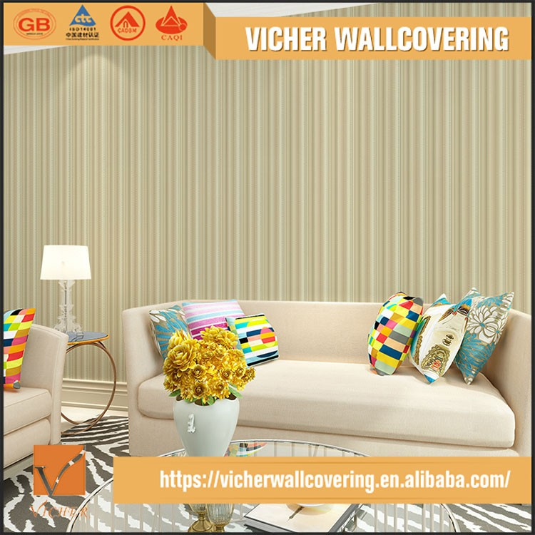 Professional Manufacturer Eco-Friendly PVC Material Top Quality Latest Design Printable Wallpaper Material