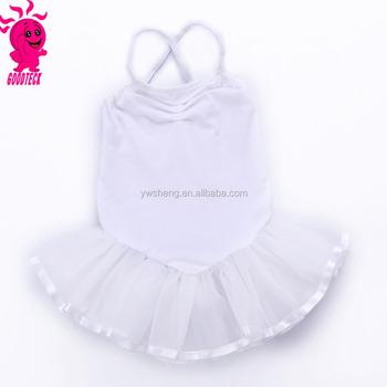 24e4c8e9e Cute Fashion White Ballet Performance Tutu Dress Baby Girl Ballet ...