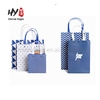 New fashional customized color food package brown kraft paper bag