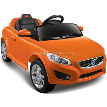 kids licensed volvo c30 rc ride on carelectric car toy for children