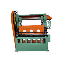 expand metal mesh machine/ expand metal fence making machine (PLC controller)