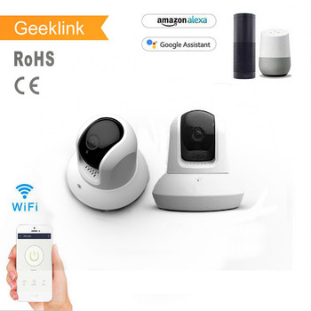 Geeklink wide angle security ip wireless surveillance security camera app remote control for home automation wifi camera