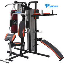 Light Commercial Multigym Home Gym Equipment 3 Station Multi Gym