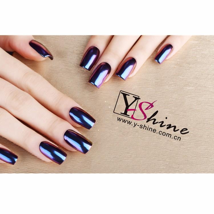 13 colores Super espejo mágico efecto pigmento gel uñas de acrílico ...