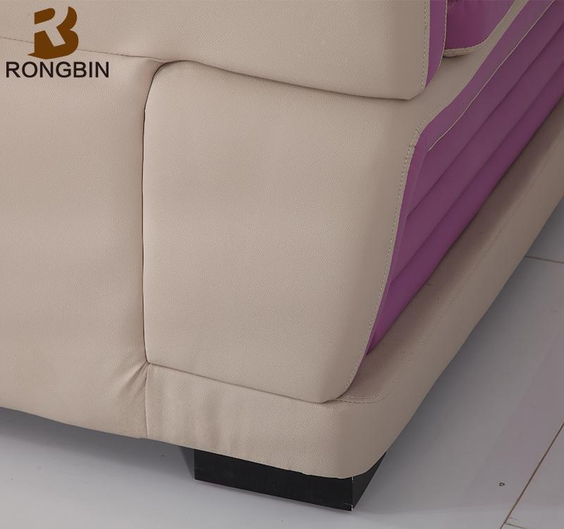 Salon meubles dernière L en forme causeuse aviator canapé de luxe italien  marocain 5 places canapé décors avec prix