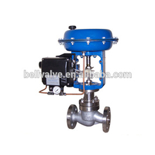 High performance oil gas grill control valve pneumatic