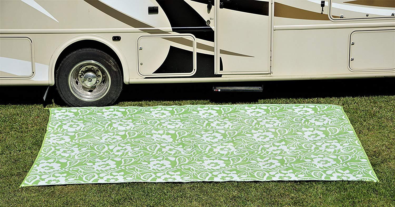 Znz Gerecycled Plastic Tapijten Patio Mat Outdoor Omkeerbare Plastic Mat Pp Geweven Mat