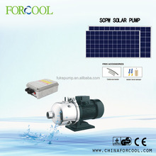 Forcool solar water pump system