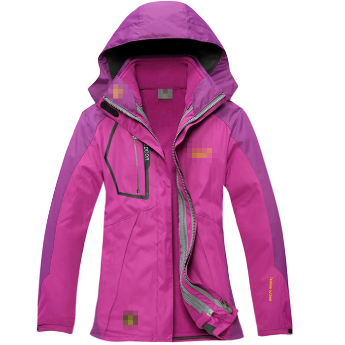 478653ad88 Get Quotations · Outdoor Winter women s snowboard 2in1 Climbing hiking Sport  Outerwear Waterproof Windproof Skiing coats Jackets for female