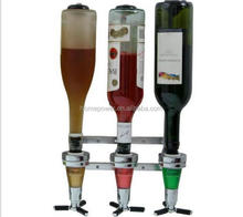 2016 Newest Three Heads Bar Butler Dispenser/Bottle Liquor Dispenser