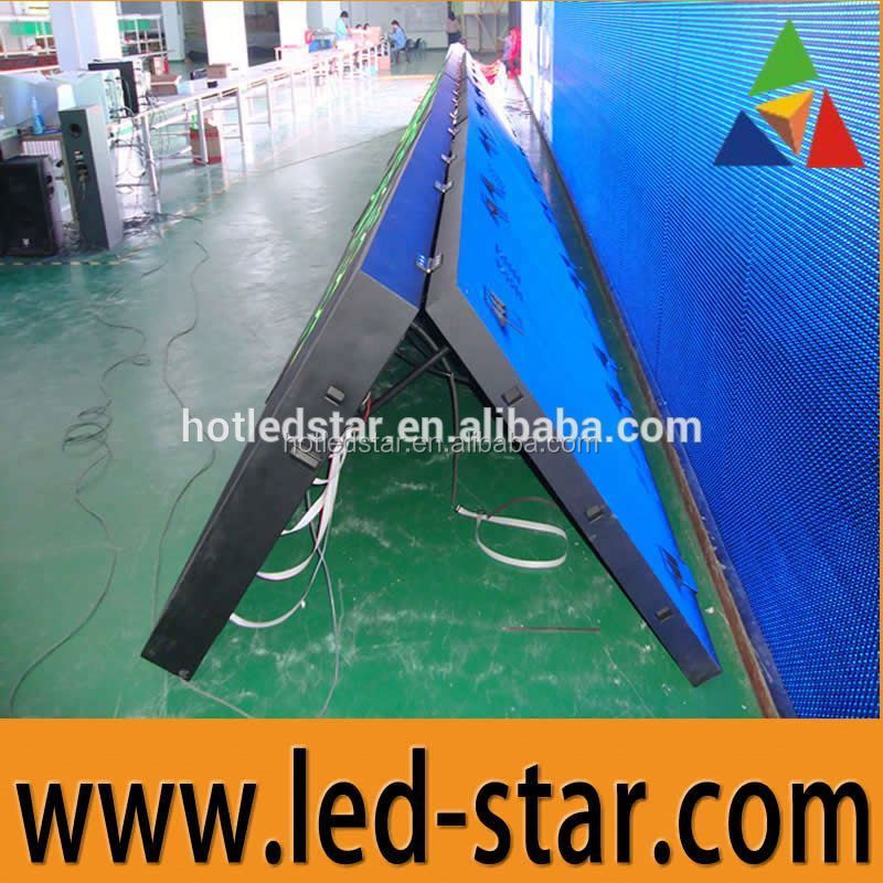 HOT LED STAR Front opening cabinet P10 outdoor video led display from ShenZhen