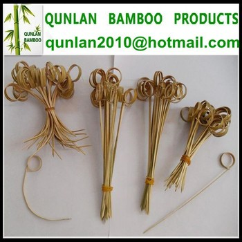 Natural Bamboo Skewers For Party