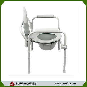 Plastic Commode Chair Disabled Toilet Seat Chair - Buy Folding ...