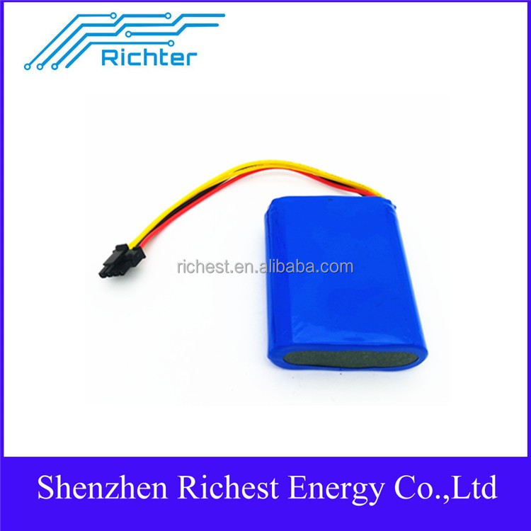 2000times above 11.1 v 18650 2600 mah battery pack