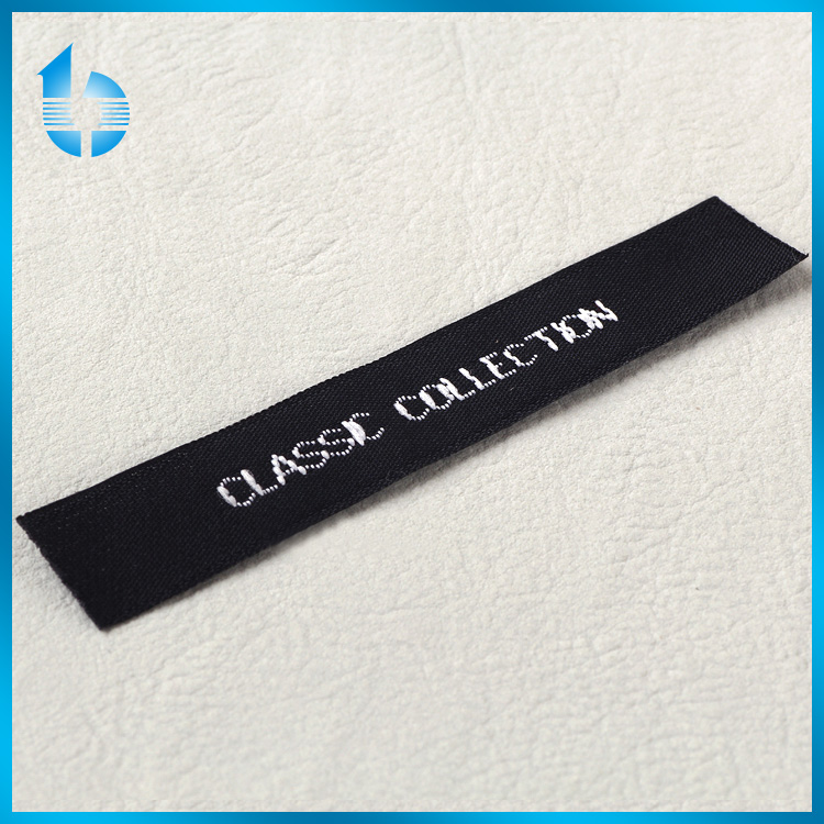 Wholesale fabric labels cheap woven labels for clothing woven shirt label
