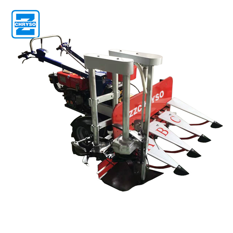 Factory price rice paddy cutting machine wheat reaper grain reaper binder machine