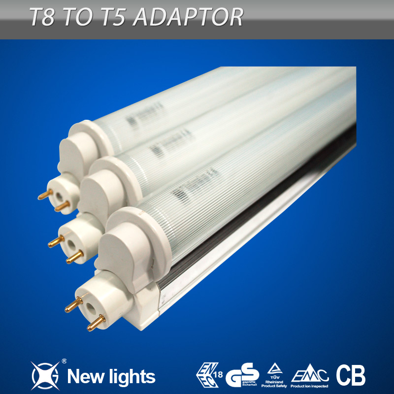 T5 Adaptor to T8 lighting tube fixture CE TUV approve