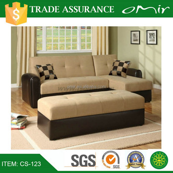 Lightweight Futon Folding Soft Sofa Beds Living Room Furniture Cs 123