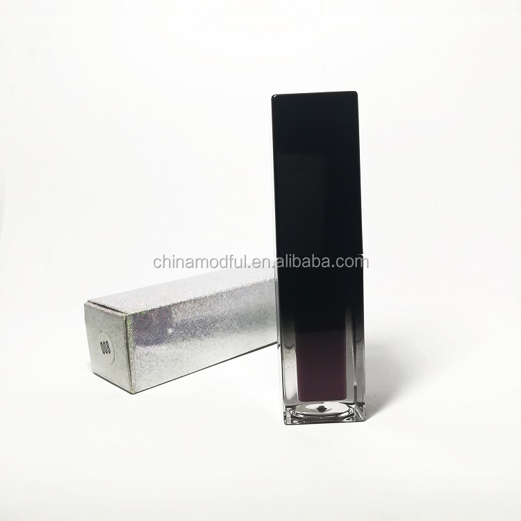 2019 Private Label  Wholesale Waterproof Labial glaze Liquid Lipstick  high shine lip gloss