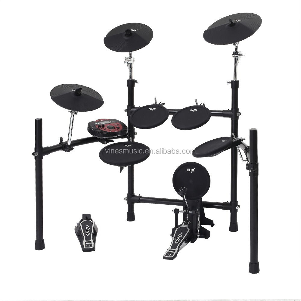 Großhandel DM-3 NUX digital drum kit, elektronische trommel, Percussion Drum