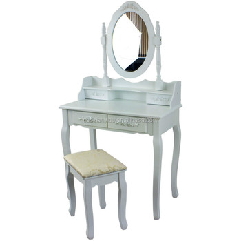 Wooden Dresser With Mirror Wood Vanity Mirror And Bench Set Buy