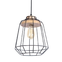 Wholesale Modern Hanging Chandelier Pendant Light Fixture Industrial Cage Decoration Ceiling Light