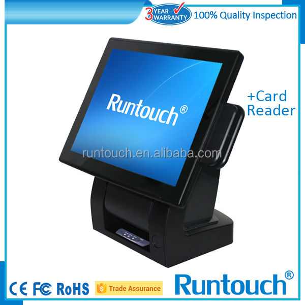 Runtouch mini pc,15 inch all in one touch screen i5, 4gb, 500gb,i5 mini pc