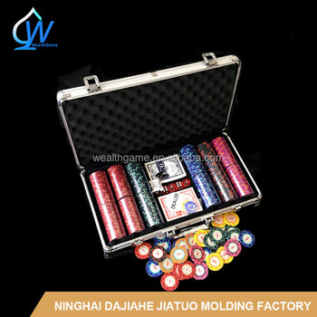 300pcs 14g Casino Royal Chip set / poker set 300
