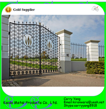Steel Fencing Designs Factory price ornamental wrought iron mild carbon steel gates and factory price ornamental wrought iron mild carbon steel gates and steel fence designs workwithnaturefo