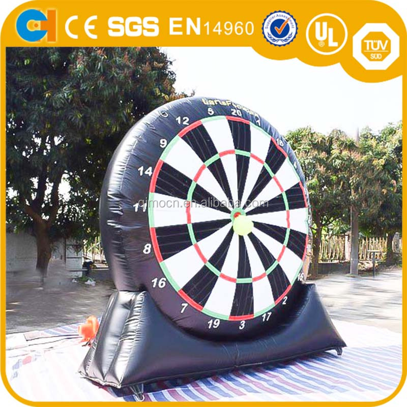 inflatable soccer darts board, giant inflatable sport games, inflatable foot darts for sale