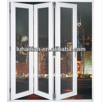 Latest Design Upvc Bifold Door With Roto Hardware