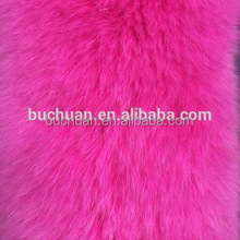 100% Real Fox Fur Plate / Fox Fur Blanket