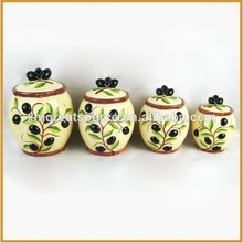 2015 China manufacture cheap colorful kitchen canister set