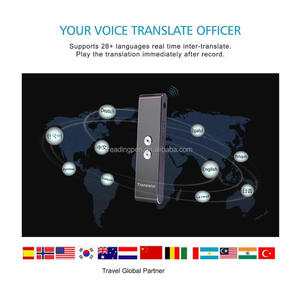 Intelligent Speech Translator support 21 different country language