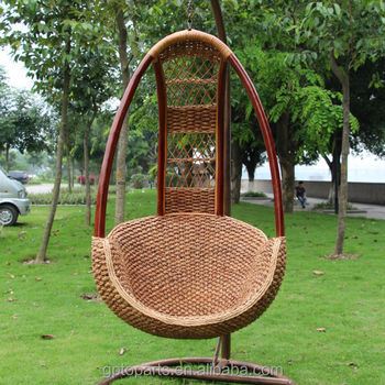 Outdoor Furniture Freestanding Chair Garden Chair Single Seat Swing
