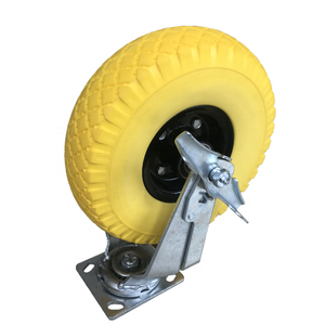 Durable 3.00-4 Sack Truck Trolley Wheel Replacement Airless Wheel