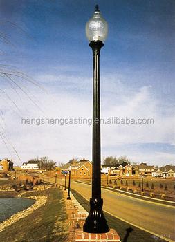 Outdoor aluminum antique garden pole light decorative led street outdoor aluminum antique garden pole light decorative led street light lamp sciox Images