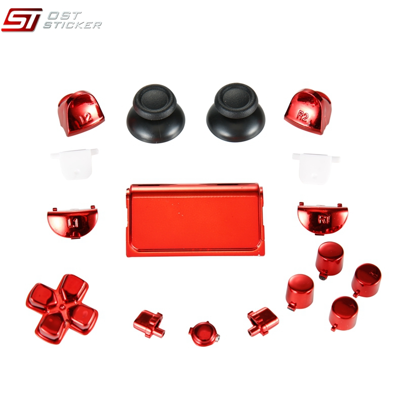 Button For Ps4 Controller Jdm 030 Full Set Chrome Joystick Buttons - Buy  Chrome Buttons For Ps4 Joystick,For Ps4 Controller Jdm 030,Buttons For Ps4