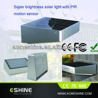 EShine Newest Cool White Warm White Pure White Rgb Solar Wall Light ELS-06P