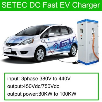 Ev Dc Fast Charge Station For Electric Car With Gb T Quick Charger Connector