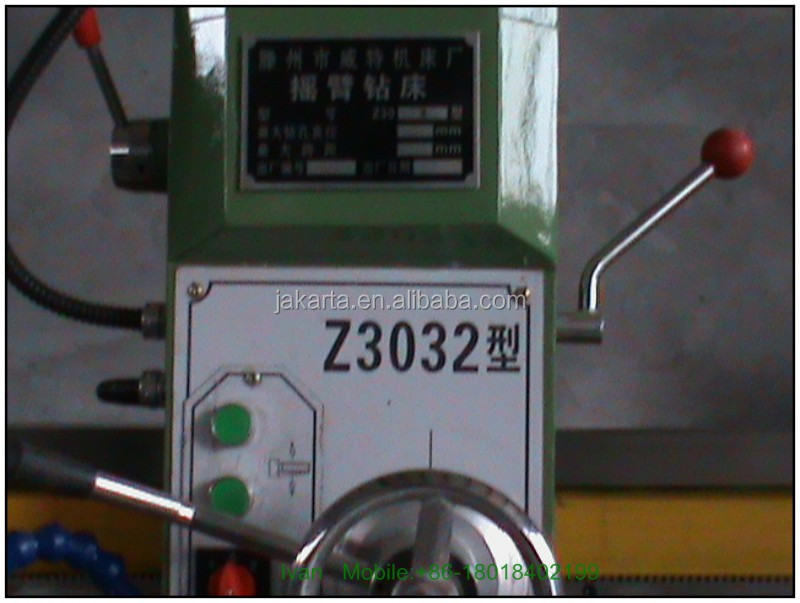 China suppliers manual for Radial drilling machine ZQ3050X20/1 , radial drilling machine with cheap price