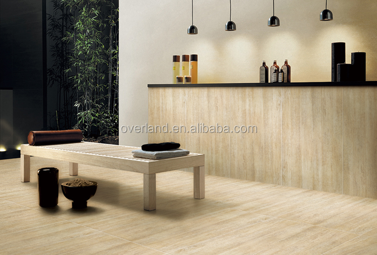 high quality wood grain porcelain tile manufacturers for bedroom-14