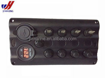 New Dc 12v 4 Way Led Marine Car Boat Toggle Switch Panel Circuit