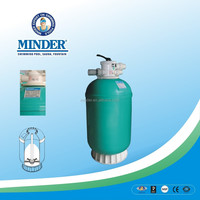 GH SERIES Top-mount Deep Bed Laminated sand filter machine sand filter for drip irrigation system sand filter