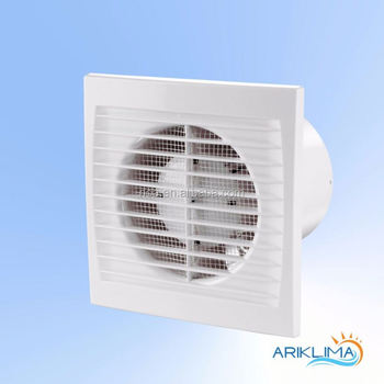 Stylish Supply Exhaust Fan For Bedroom Polluted Air Extraction Slim S
