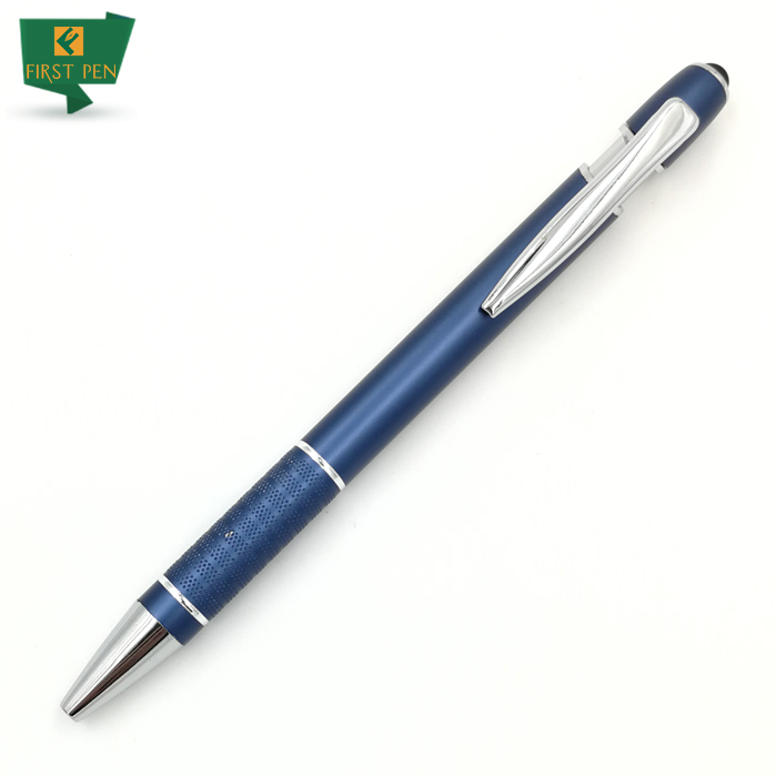 The Best Deals Stylish Texture Pen With Stylus For Promotion