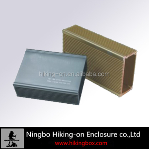 Anodized Aluminum enclosures/aluminum extruded profiles 80*37.5*100mm