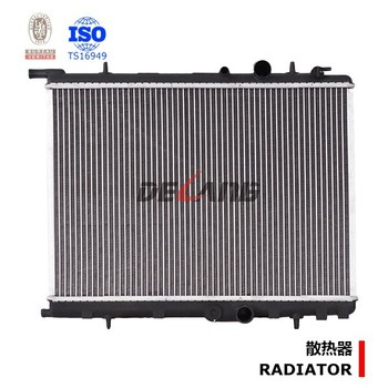 Auto Parts Radiator For Peugeot 206 With Oe 1330.74/1330.75/1331.ke