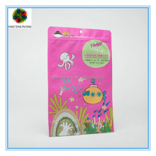 Decorative large face mask packing bag plastic bag ziplock zipper bag