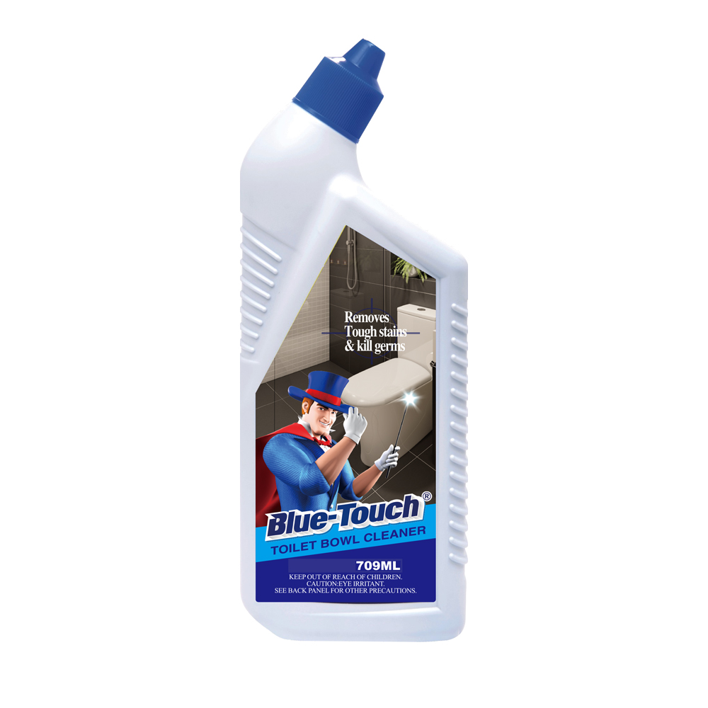 Blue-Touch Eco-friendly wholesale liquid toilet <strong>cleaner</strong> in deteregent 709ml/ 5L/20L